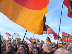 """Pegida hat sich totgelaufen"", sagt Martin Florack. Foto: blu.news.org/flickr.com"