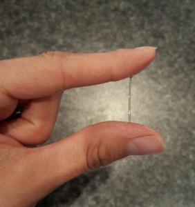 Spinnbarer Zervixschleim zeigt den Zeitraum des Eisprungs an