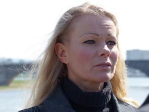 Kathrin Oertel war Pressesprecherin von Pegida. Foto: blu.news.org/flickr.com