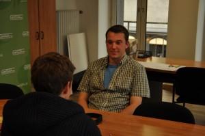Im Interview erzählt Mark vom Tarifstreit bei der Bahn. Foto: privat