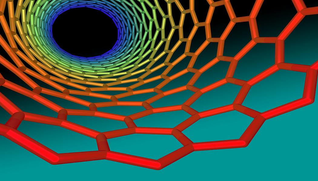 Nanotube Grafik von innen