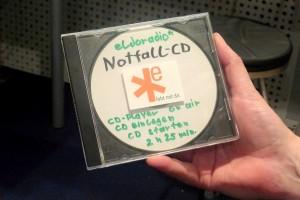 *eldoradio musste am Montagabend Musik von einer Notfall-CD abspielen. (Foto: Anne Schubert)
