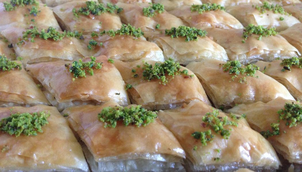 Baklava - eine von vielen traditionellen Süßspeisen an Bayram. Foto: Feyza Bicakci