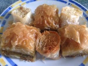 Türkisch-Arabische Spezialität: Baklava. Foto: Feyza Bicakci