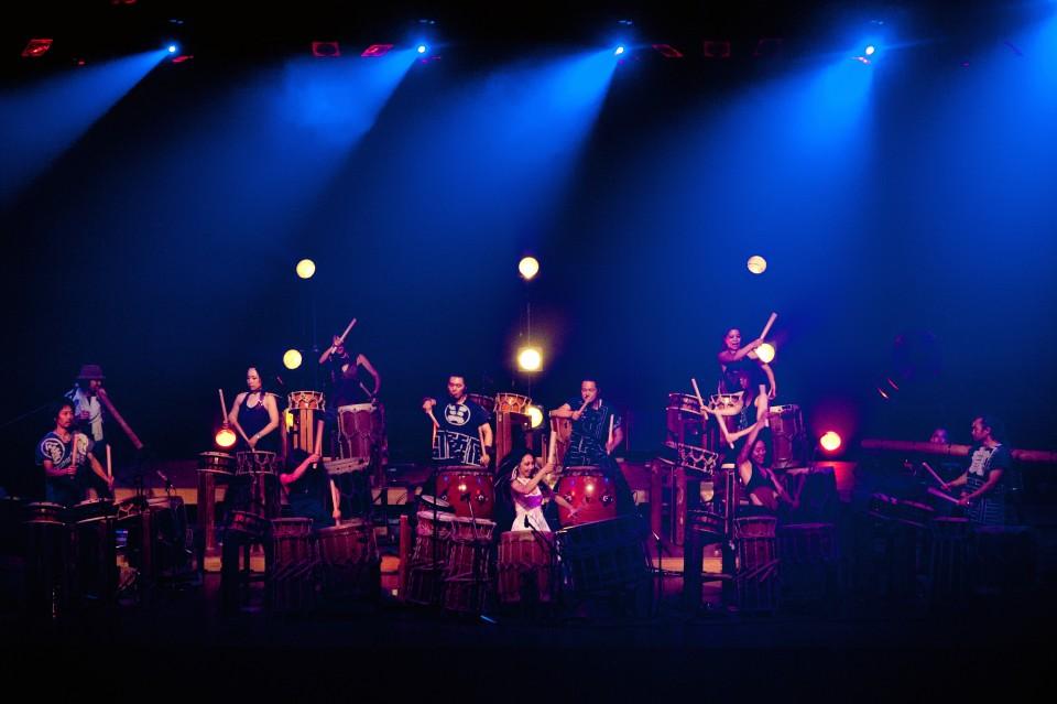 Die Trommler-Gruppe Gocoo