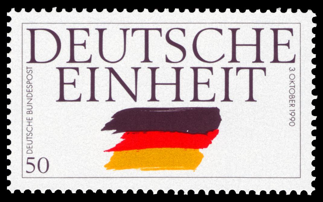 Briefmarke Deutsche Einheit