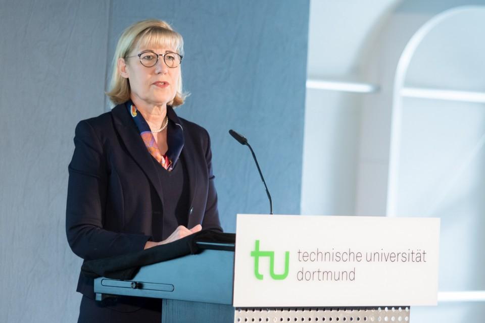 Ursula Gather, aktuelle Rektorin der TU