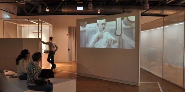 """Kann eine Maschine Gefühle empfinden? Der Kurzfilm """"Kara"""" von Quantic Dream wird bald auch als Spiel weiterentwickelt. Foto: Kira Schacht."""