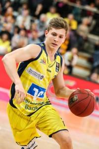 Point-Guard Niklas Geske lenkt das Offensiv-Spiel von Phoenix Hagen.
