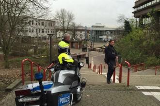 Polizeieinsatz an der TU-Dortmund