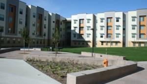 Dies sind die neuen Studentenwohnheime in Bakersfield. Foto: Caroline Angle