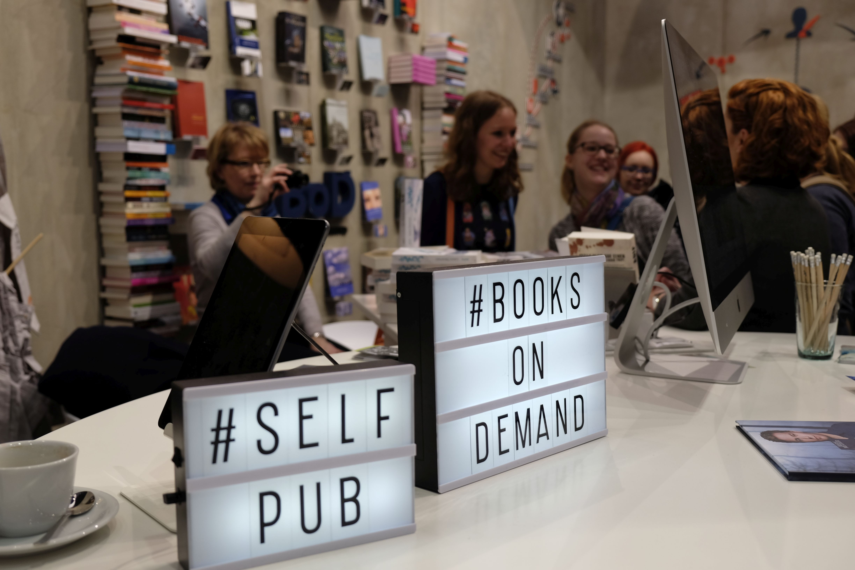 Bei Books on Demand werden Bücher erst auf Bestellung gedruckt. Foto: Johanna Mack