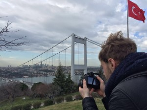 Tobias Dammers in Istanbul
