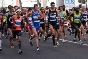 Der Start ins Abenteuer Marathon.