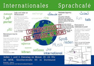 Das internationale Sprachcafé. Foto: https://www.facebook.com/SprachcafeamOstpark