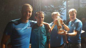 Rekord für Hendrik Pfeiffer - der schnellste Campuslauf-Sieger aller Zeiten.