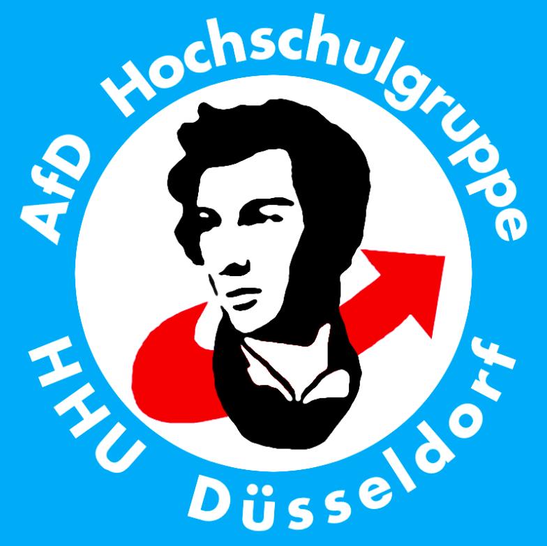 Die AfD- Hochschulgruppe Düsseldorf vertritt ihre Meinung vor allem bei Facebook. An hochschulpolitischen Prozessen in der Uni beteiligt sich die Gruppe dafür umso weniger.