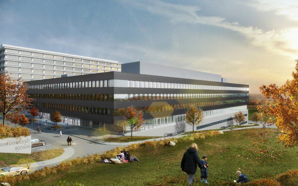 RUB bekommt drei neue Gebäude