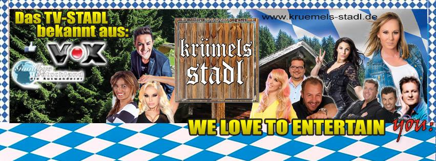 Krümels Stadl Prodil Facebook- hier gibts die Line-ups!