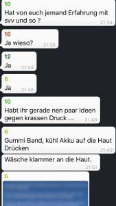 Chatverläufe aus der Pro Ana WhatsApp-Gruppe