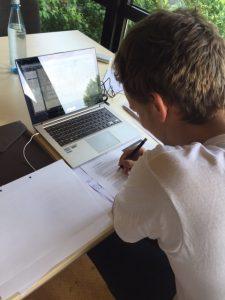 Daniel schreibt momentan seine Masterarbeit und plant anschließend zu promovieren.  Foto: Riem Karsoua
