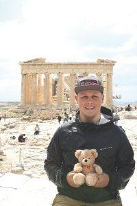 Tobias Busch arbeitete in Griechenland.