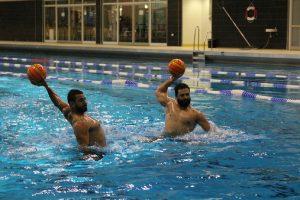 Moayad und Amjad Alhammal spielten in der syrischen Nationalmannschaft.