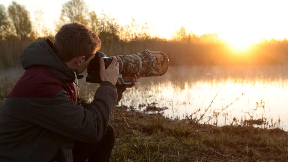 Am liebsten fotografiert Hermann Hirsch kurz nach dem Sonnenaufgang.
