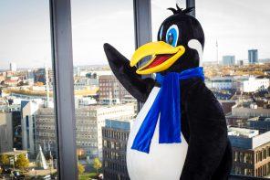 Von Beruf Pinguin: Meine Arbeit als Maskottchen