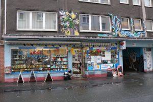 Der Kiosk der Familie Eroglu in der Adlerstraße.