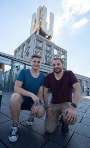 Zusammen wollen Marius und sein Geschäftspartner Nils Freyberg nun durchstarten. (Foto: neext.de)