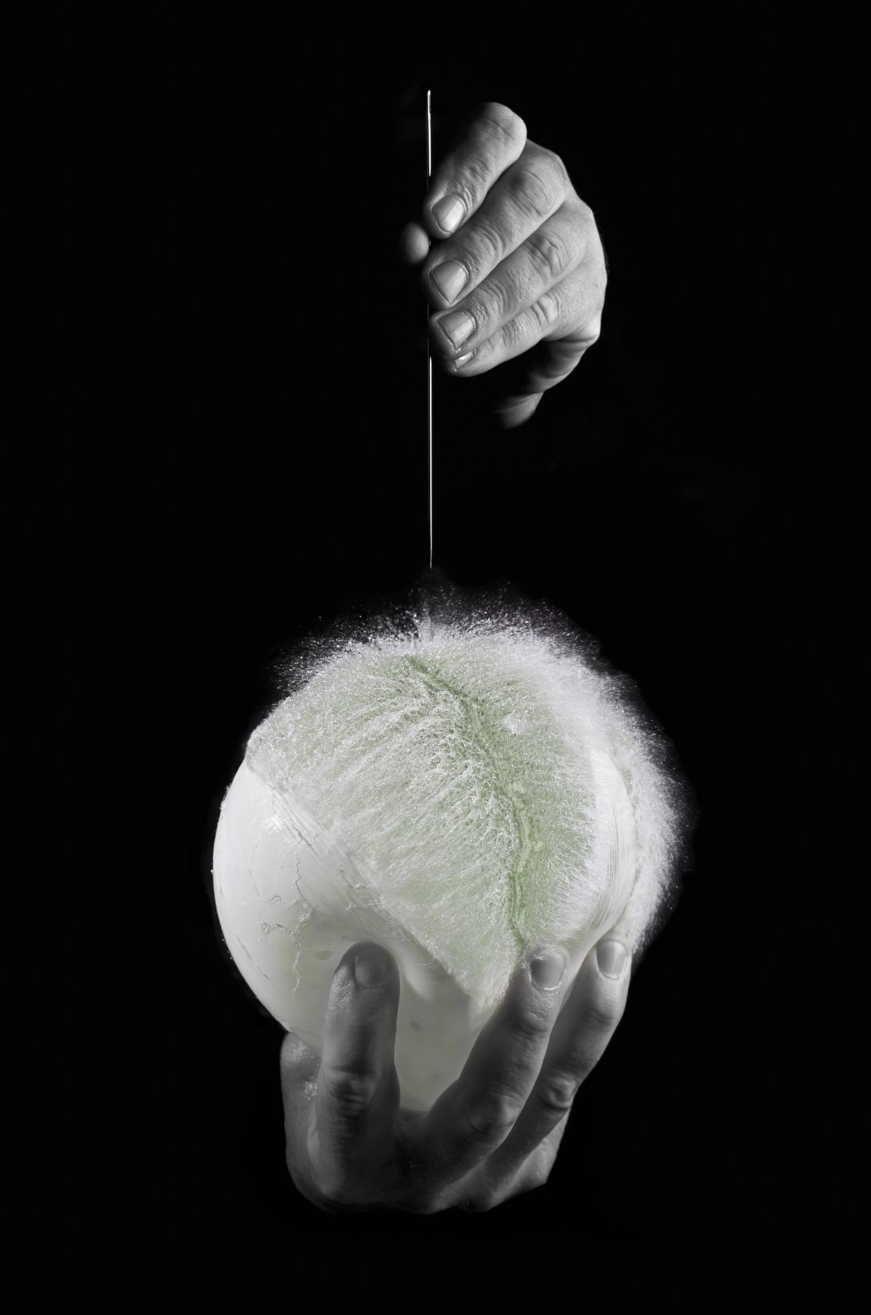 Luftballon Aids-Projekt