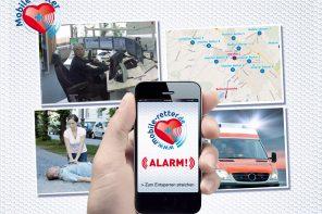 """Mobile Retter"": Leben retten via Smartphone"