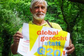 Gegen G20 und gegen Gewalt